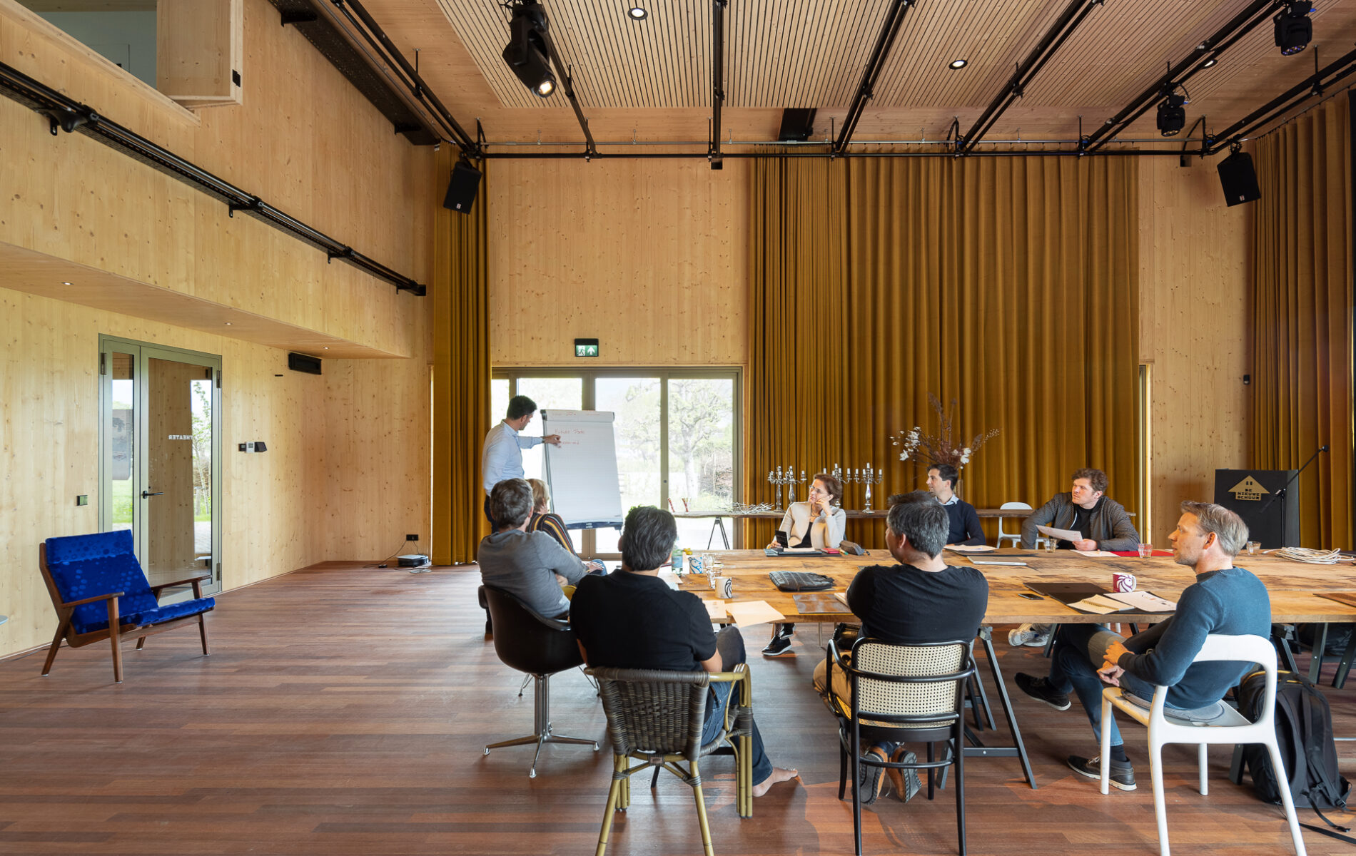 De Nieuwe Schuur, De Theaterzaal - Zakelijke Verhuur, directie meeting